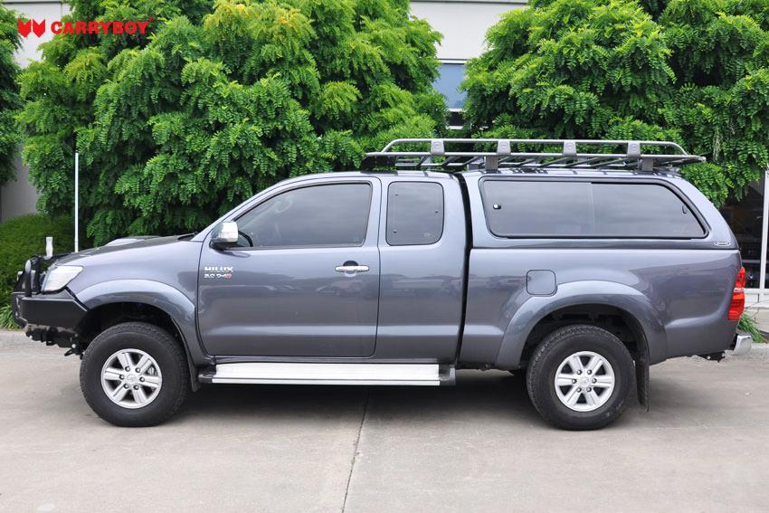 CARRYBOY Hardtop mit großen Schiebefenstern 560gF-TRC Toyota Hilux Revo Invincible Extrakabine Qualität und Design Weltmarktführer