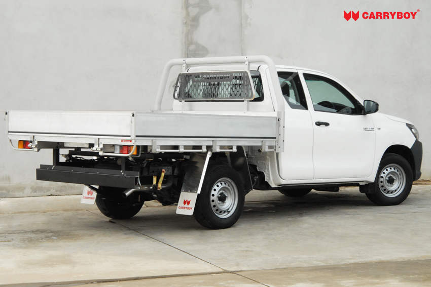 Carryboy Fahrgestellaufbauaustauschbare Pickup Ladefläche niedrige Bordwand Extrakabine Pickup