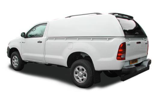 CARRYBOY Hardtop 560oS-MTL Mitsubishi L200 Singlecab 2005-2015 belastbares GFK Hardtop ohne Seitenfenster