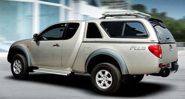 CARRYBOY Hardtop 560-MTC mit Schiebefenster Mitsubishi L200 Clubcab gesicherte Ersatzteilversorgung
