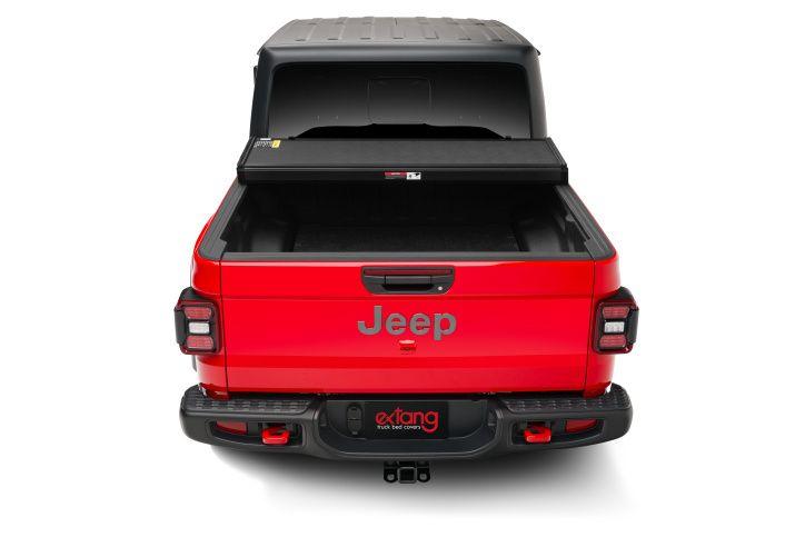 NOVISauto Laderaumabdeckung Trifold Jeep Gladiator 2020+ offen fahrbar elegantes Design