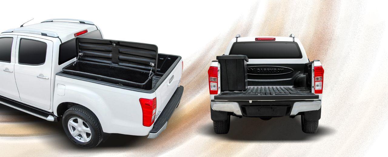 CARRYBOY seitliche XXL Staubox Pickup Ladefläche platzsparend