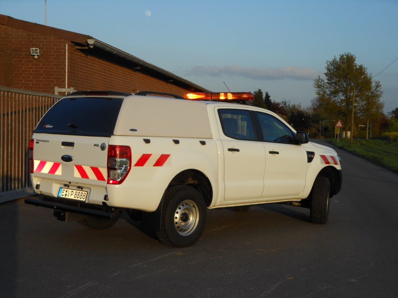 CARRYBOY Hardtop ohne Seitenfenster VW Amarok Doppelkabine Wagenfarbe