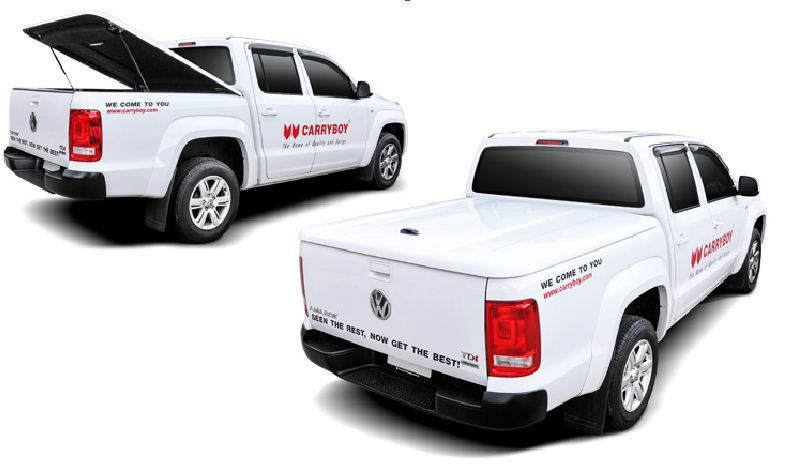 Carryboy Sport Lid Abdeckung Modell SX-VWAD für VW Amarok Festabdeckung Deckel