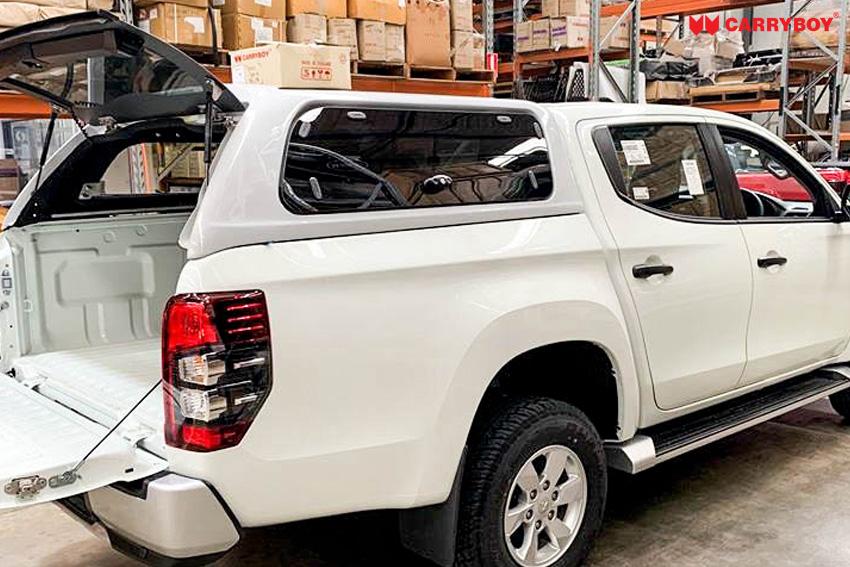 CARRYBOY SON-MND Hardtop mit Glasklappen Mitsubishi L200 2020+