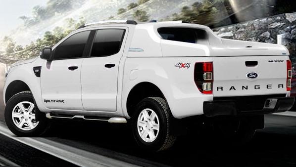 Ford Ranger Laderaumabdeckung Fullbox 762 mit Überrollbügel, sicher abschließbar