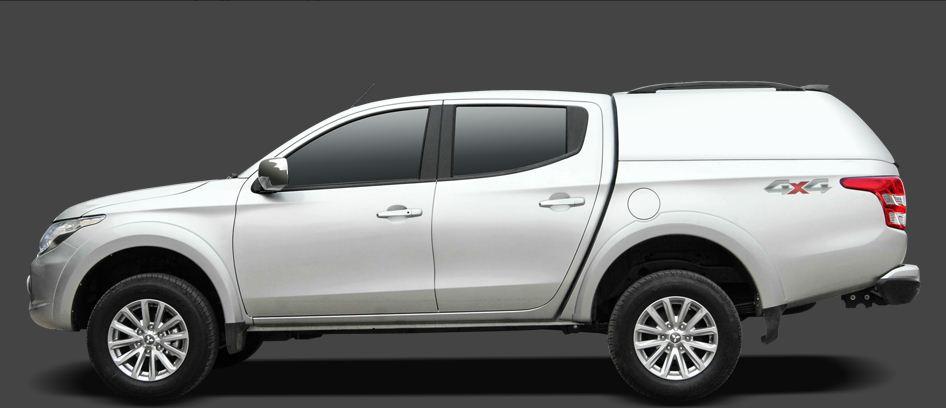 CARRYBOY Hardtop geschlossene Seiten GFK Mitsubishi L200 Doppelkabine 2016+