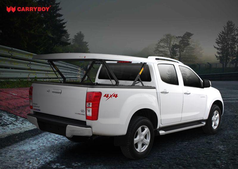 CARRYBOY Laderaumabdeckung mit Motorhub SMX-IRDB