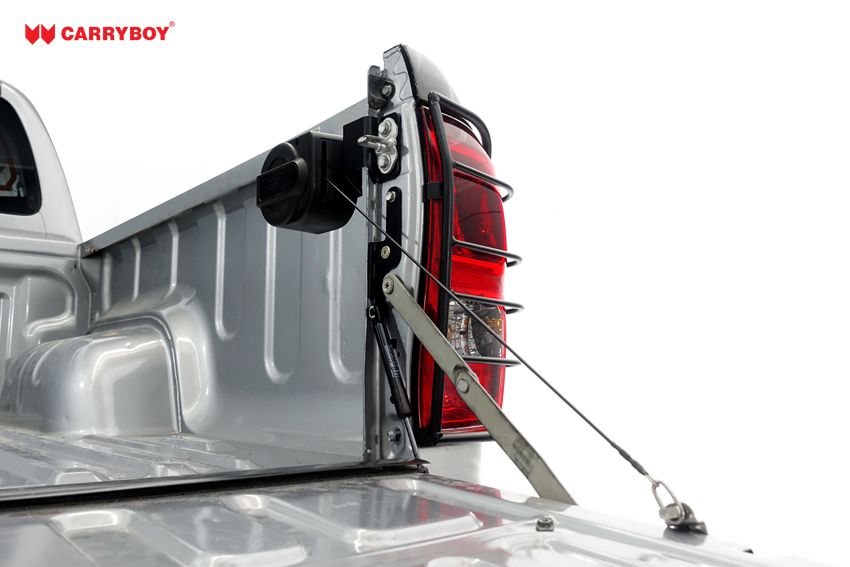 CARRYBOY Pickup Heckklappendämpfer Unterstützung Hilfe CB-105-MN Mitsubishi L200 Heckklappenfeder