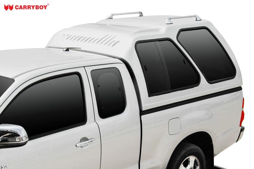 CARRYBOY Hardtop mit Überhöhe Schiebefenster 840-FC Ford Ranger Extrakabine 2002-2011