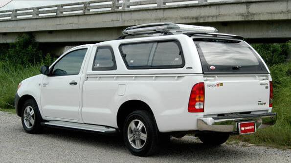 CARRYBOY Hardtop 560-TVL Toyota Hilux Vigo Singlecab 2005-2015