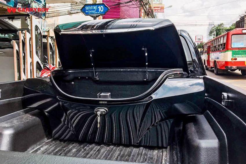 CARRYBOY Staubox Transportbox XXL Jumbo 735 Pickup Ladefläche Ladeflächen Kofferraum