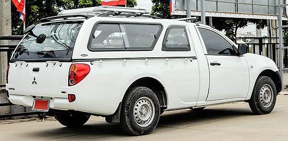CARRYBOY Hardtop 560-MTL Mitsubishi L200 Einzelkabine 2005-2015 extrem belastbar GFK