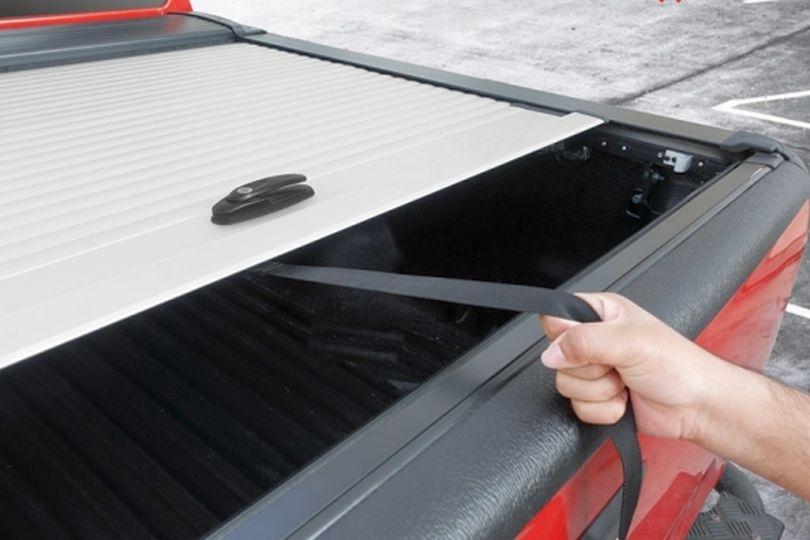 Ford Ranger Doppelkabine Laderaumabdeckung Rollo aus Aluminium, einfache Bedienung
