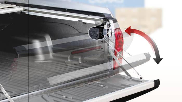 CARRYBOBY Heckklappenfeder Heckklappendämpfer Mitsubishi L200 ohne Bohren
