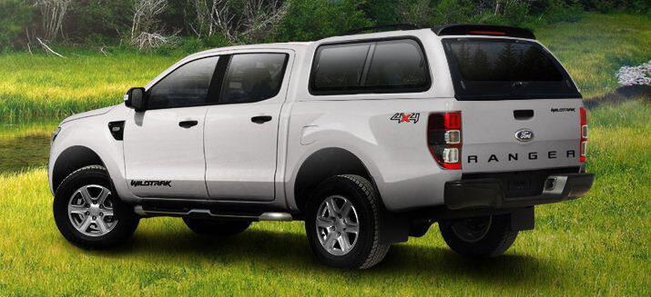 CARRYBOY Hardtop 560-FTD Ford Ranger Doppelkabine stabiles GFK Hardtop Qualität und Design