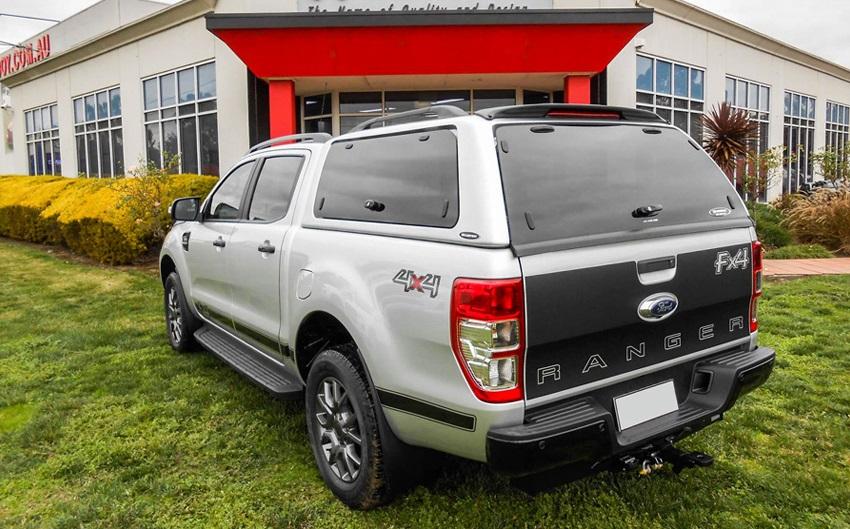Ford Ranger Hardtop SO-FTD mit Glasklappen Doppelkabine