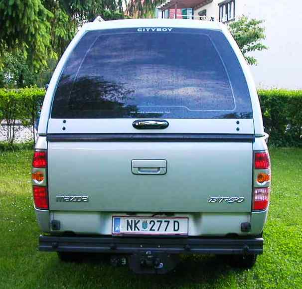 CARRYBOY Hardtop 840-MTC Mitsubishi L200 Clubcab Extrakabine 2005-2009 mit Schiebefenster große Heckklappe