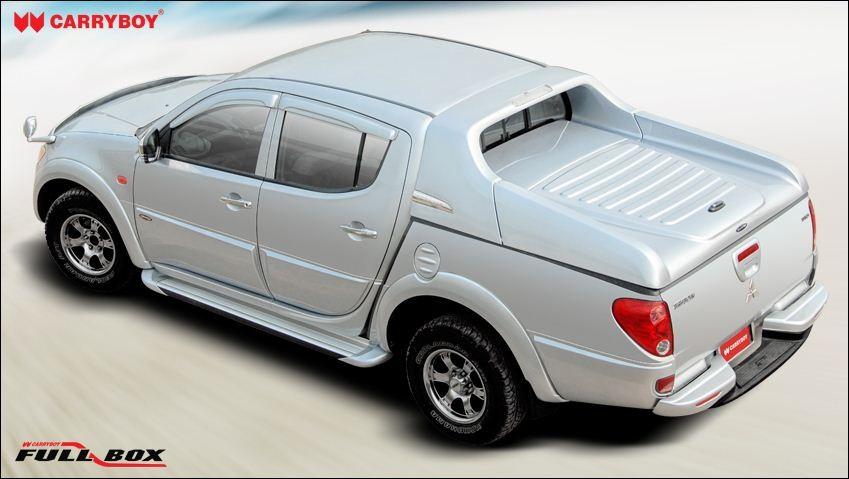 CARRYBOY Laderaumabdeckung Deckel Fullbox Isuzu D-Max Doppelkabine 2012-2016 sportliches Design