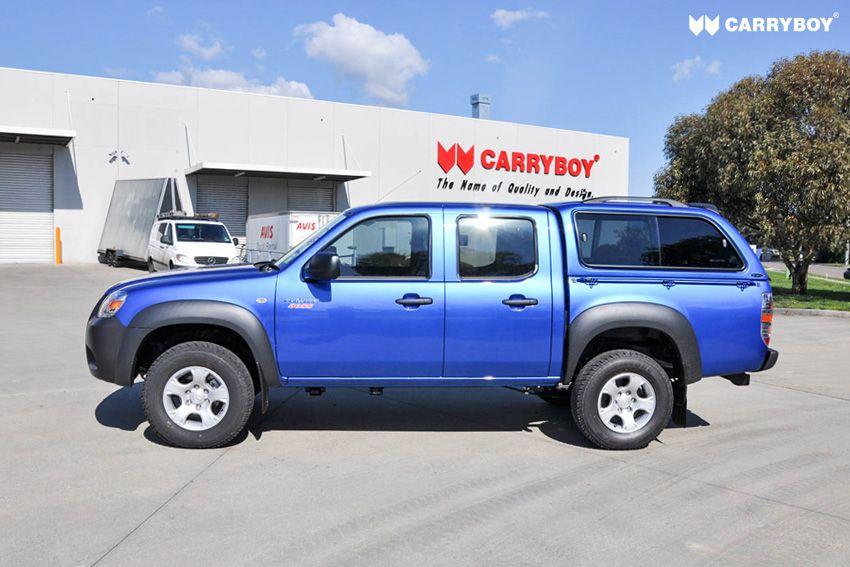 CARRYBOY Hardtop mit Schiebefenster lackierung in Wagenfarbe Ford Ranger Doppelkabine 2002-2011