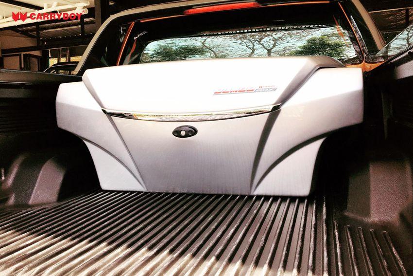 CARRYBOY Staubox Transportbox XXL Jumbo 735 Pickup Ladefläche Frontöffnung