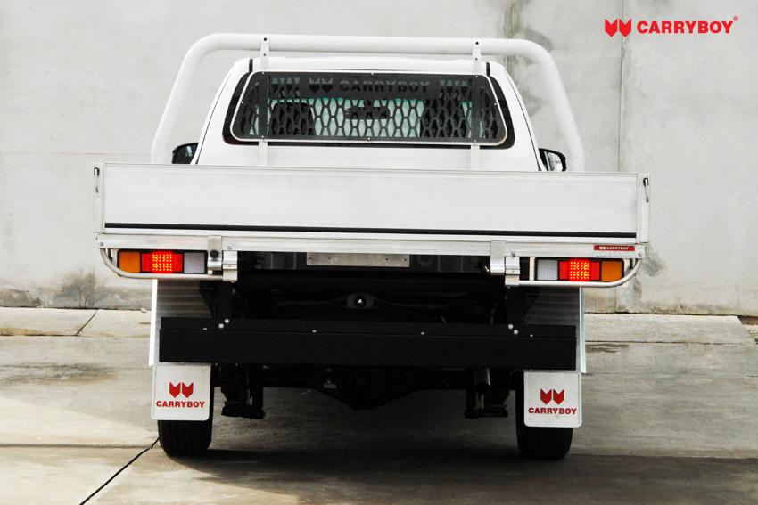 Carryboy Fahrgestellaufbau Extrakabine Aluminiumladefäche für Pickups Verzurrösen