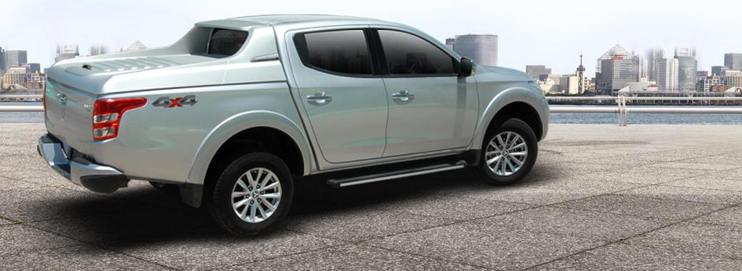 CARRYBOY Laderaumabdeckung Deckel mit Sportbügel sportliches Design Toyota Hilux Vigo 2005-2015 Doppelkabine