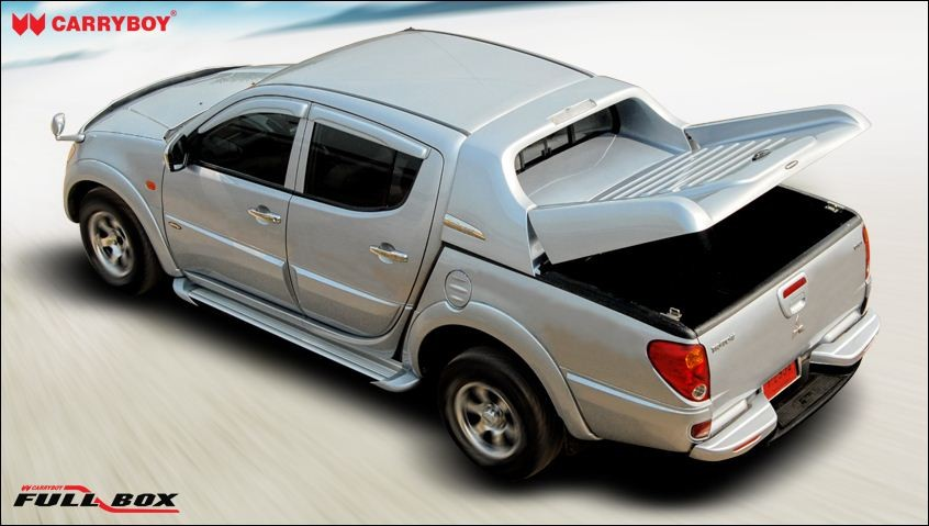 CARRYBOY Ladeflächenabdeckung Deckel für Toyota Hilux Vigo Doppelkabine 2005-2015