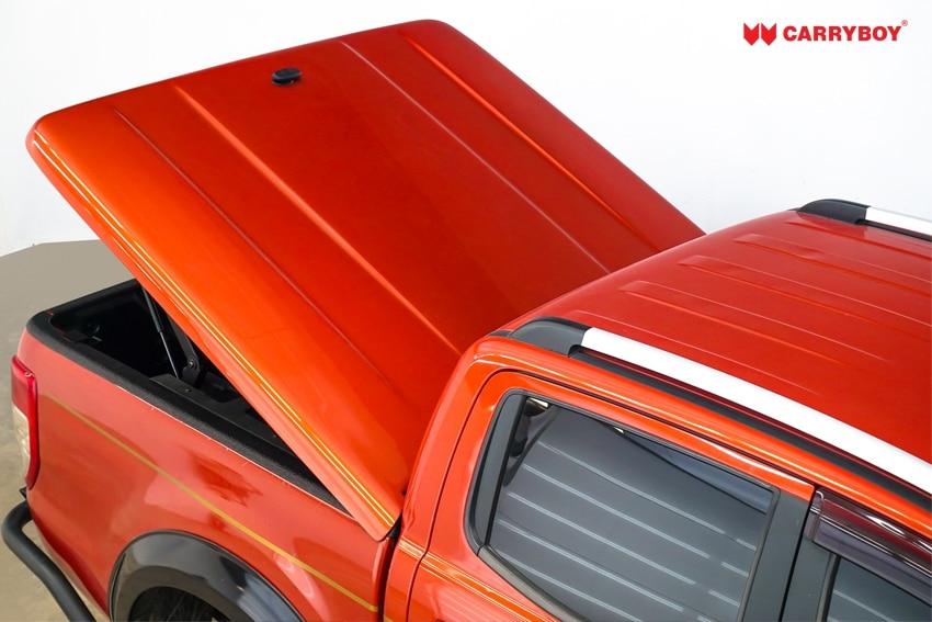 Ford Ranger Doppelkabine Laderaumabdeckung Deckel Flachabdeckung SMX2-FTD, schräg offen