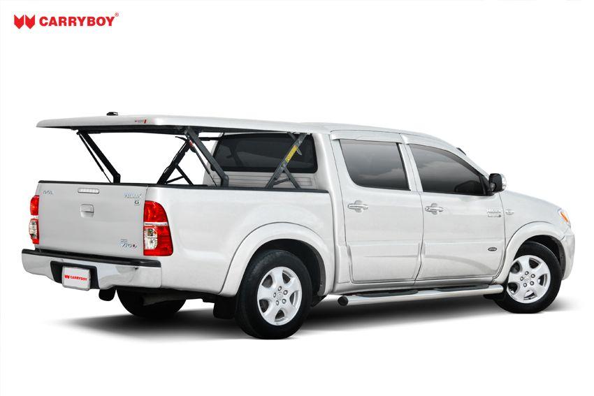 CARRYBOY Laderaumabdeckung Pickup mit Motorhub SMX Deckel auf Kabinenhöhe einstellbar