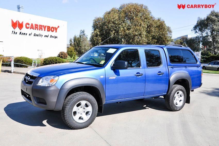 CARRYBOY Hardtop mit Schiebefenster langjährige Ersatzteilversorgung Ford Ranger Doppelkabine 2002-2011