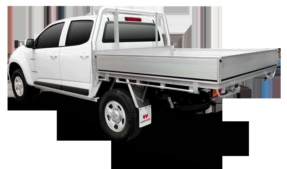 Carryboy Fahrgestellaufbau Aluminium Tray Doppelkabine Pickup