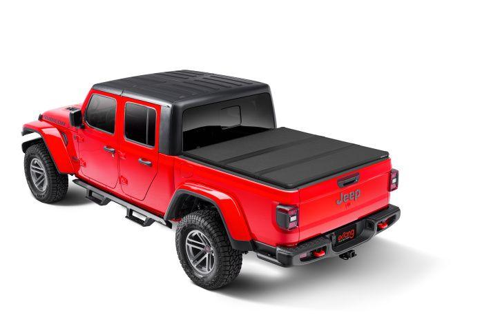 NOVISauto Laderaumabdeckung Trifold Jeep Gladiator 2020+ abschließbar über Heckklappenschloss