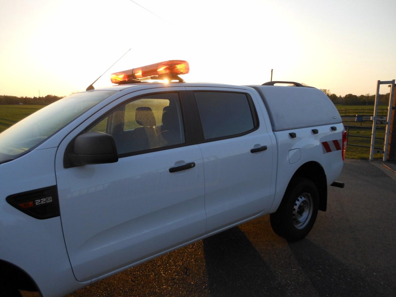 Carryboy Hardtop ohne Seitenfenster für Ford Ranger Doppelkabine  GFK