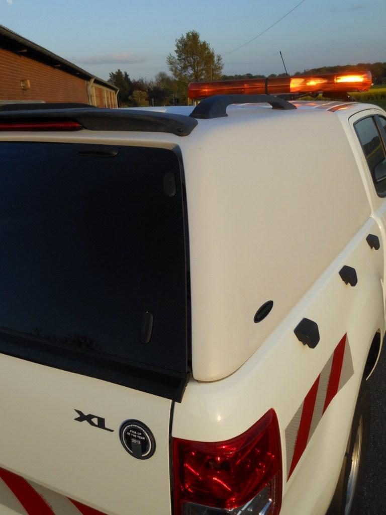 CARRYBOY Isuzu D-Max Doppelkabine 17-20 3. Bremslicht sicher abschließbare Hecktür