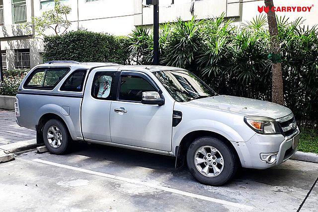 CARRYBOY Hardtop Ford Ranger Extrakabine 2002-2011 seitliche Schiebefenster