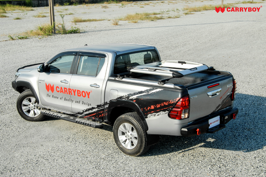 CARRYBOY Dachgepäckkorb kombinierbar mit Laderaumabdeckung