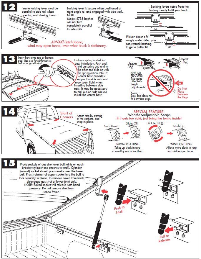 NOVISauto Laderaumabdeckung Plane zum Hochklappen FULLTILTSL - Ford