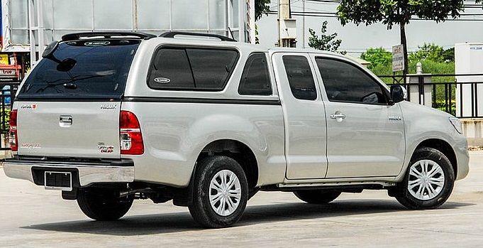 CARRYBOY Hardtop mit Schiebefenster Toyota Hilux Vigo Extrakabine 2005-2015 gesicherte Ersatzteilversorgung