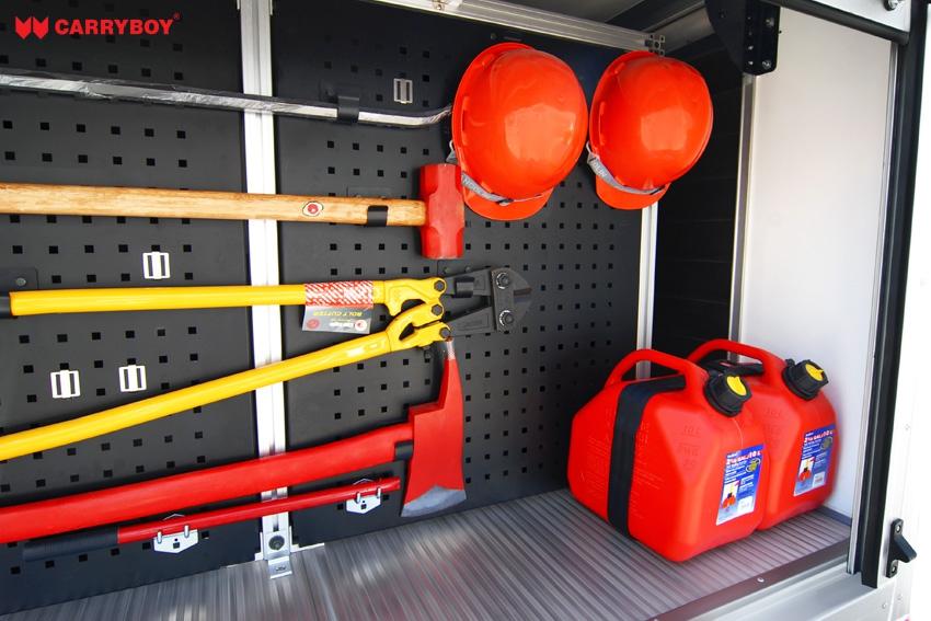 Carryboy Fahrgestellaufbau Modell Fire Rescue