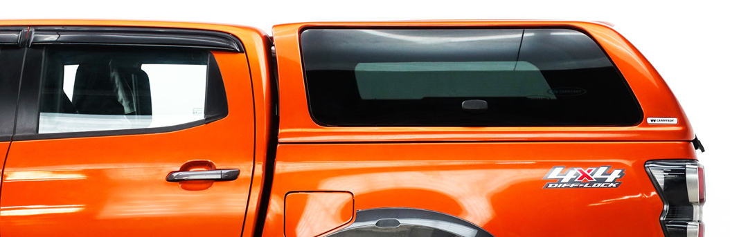 CARRYBOY Hardtop SLR Klappfenster Fenster ohne Befestigungsbolzen