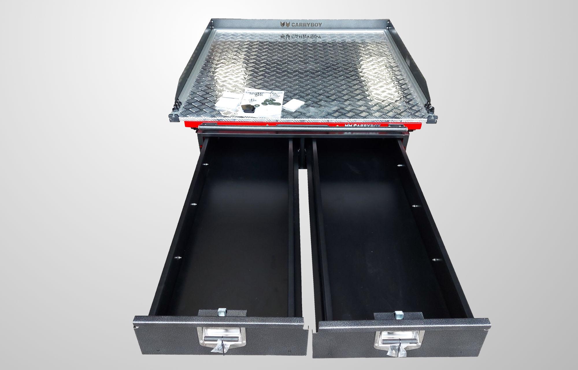 CARRYBOY Pickup Ladebodenauszug und Schubladen für Ladefläche