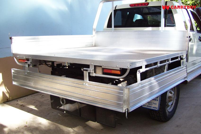 Carryboy Fahrgestellaufbau Aluminium ultraleicht Ladefläche Pickup Doppelkabine