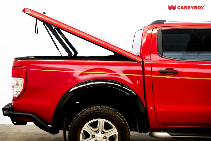 Ford Ranger Doppelkabine Laderaumabdeckung Deckel Flachabdeckung SMX2-FTD, Motorantrieb