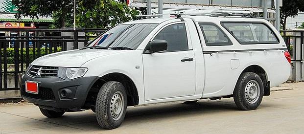 CARRYBOY Hardtop 560-MTL Mitsubishi L200 Singlecab 2005-2015 mit belastbarer Dachreling