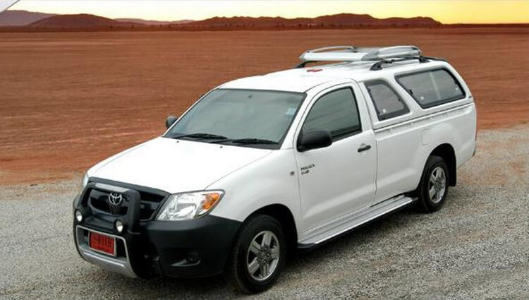 CARRYBOY Hardtop 560-TVL Toyota Hilux Vigo Singlecab 2005-2015 GFK einfache Installation