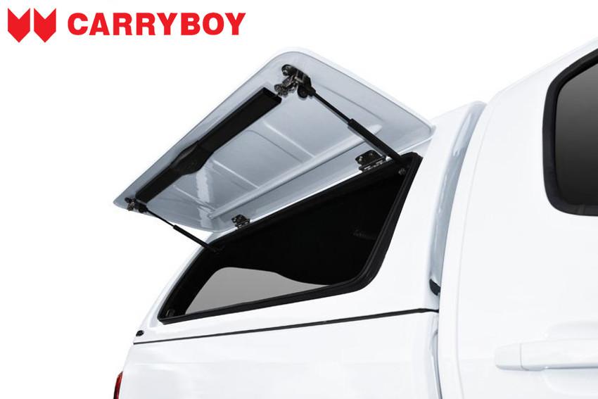 CARRYBOY Hardtop mit festen Seitenklappen SOK-MND Mitsubishi L200 Doppelkabine sicher abschließbar