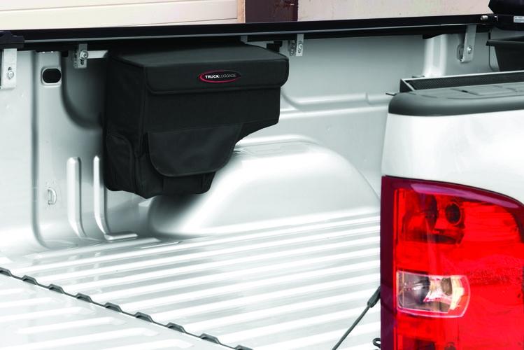 Novisauto Pickup Werkzeugtasche Saddlebag für Pickup Laderaum und Ladefläche bequeme Installation per Klemmen