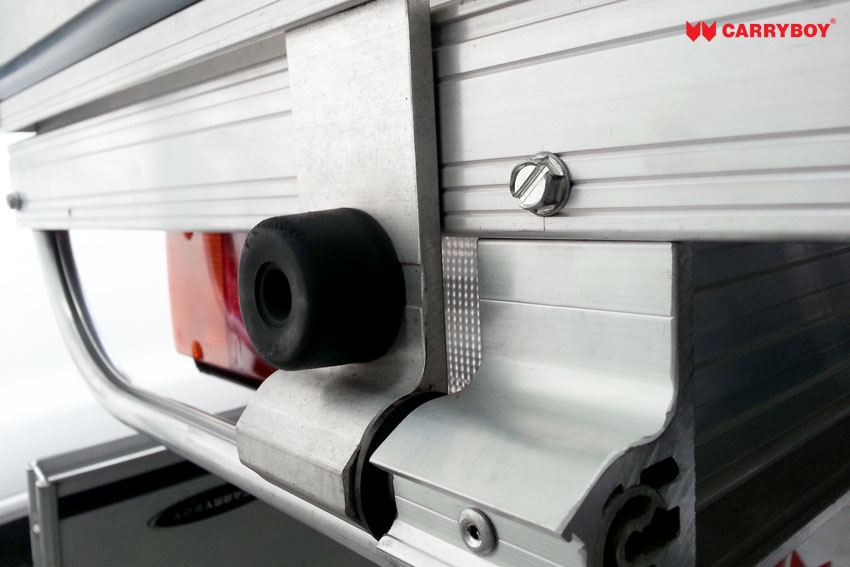 CARRYBOY Aluminium ultraleicht Ladefläche für Pickups Gummipuffer Bracken Pickup Extrakabine