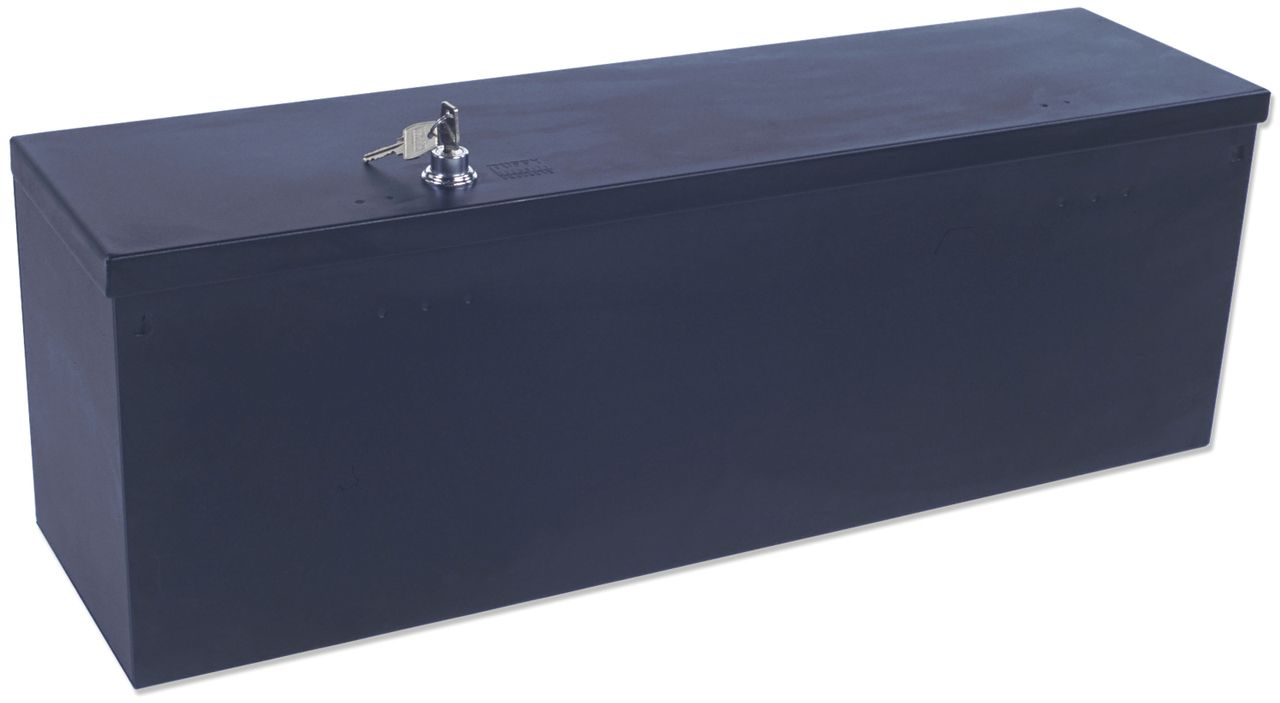 NOVISauto Sicherheitsbox Autotresor Kofferraum universal Wertsachentresor für Fahrzeuge Stahl Druckschloss verriegelbar